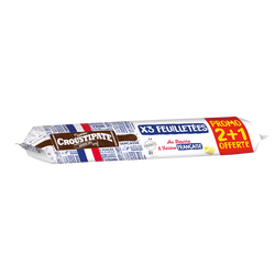 Lot pâtes feuilletées OFG CROUSTIPATE, x2 + 1 offert, 690g