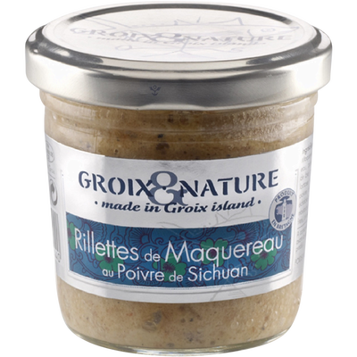 Rillette de maquereau au poivre de Sechuan GROIX & NATURE, 100g