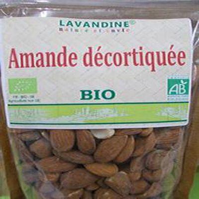 amandes décortiquées bio 250g