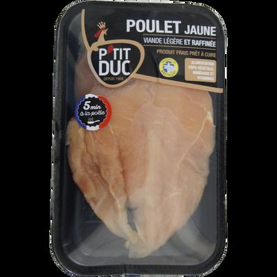Escalope fine de poulet jaune, P'TIT DUC, France, 2 pièces