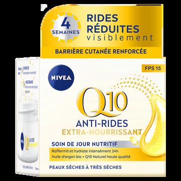 Nivea Soin Visage Jour Q10 Power Peaux Sèches Nivea, 50ml