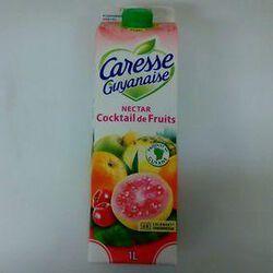 CARESSE GUYANAISE NECTAR COCKTAIL DE FRUITS 1L