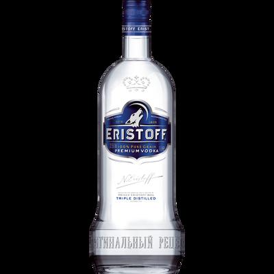Vodka brut ERISTOFF, 37,5°, bouteille de 1,5l