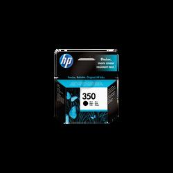 Cartouche d'encre HP pour imprimante, CB3355EE noir n°350, sous blister