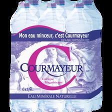 Courmayeur Eau Minérale Naturelle , 6 Bouteilles De 1,5l