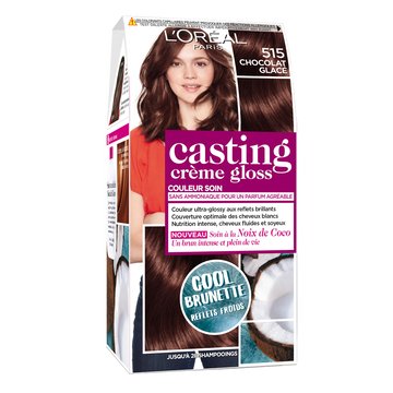 L'Oréal Coloration Ton Sur Ton Casting Crème Gloss, Chocolat Glacé, N°515
