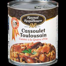 Cassoulet Toulousain à la graisse d'oie RAYNAL ET ROQUELAURE, 840g