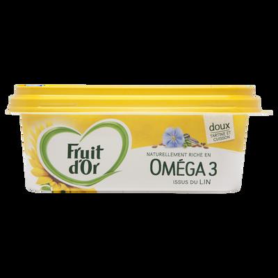 Margarine allégée oméga 3 doux FRUIT D'OR 60%mg 250g