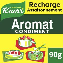 Aromat condiment recharge pour tube aromat KNORR, 1 sachet de 90g