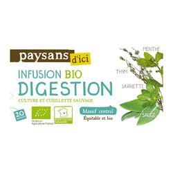 Infusion bio digestion PAYSANS D'ICI
