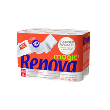 Papier toilette 4D magic RENOVA, 12 rouleaux