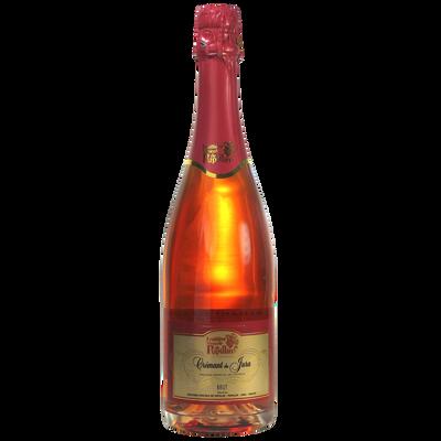 Crémant du Jura rosé FRUITIERE VINICOLE DE PUPILLIN , bouteille de 0.75l