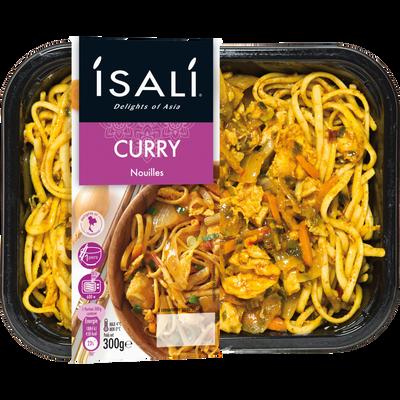 Nouilles au curry ISALI, 300g