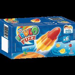 Pirulo fuzz citron orange fraise NESTLE, x6 soit 348g
