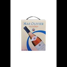 """Vin rosé AOC Faugères """"Mas Olivier"""", 3l"""
