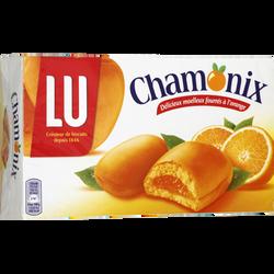 Génoises à l'orange CHAMONIX lu, paquet de 250g