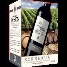 """Vin rouge AOC Bordeaux """"Château Deson"""", 3l"""