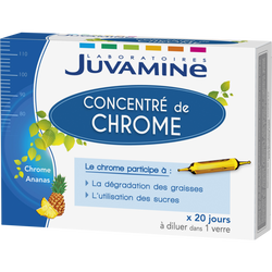 Ampoule concentré de chrome, x 20
