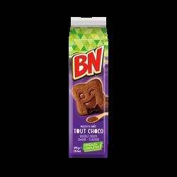 Biscuits cacaoté fourré tout chocolat BN, 295g