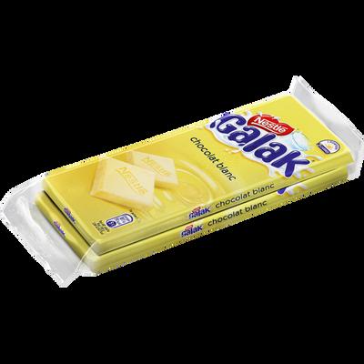 Chocolat blanc GALAK, 2x100g