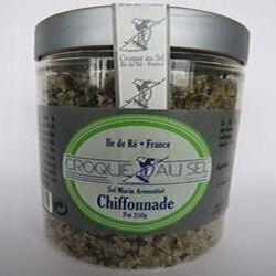 Sel marin aromatisé chiffonade, pot 250gr, Croque au sel