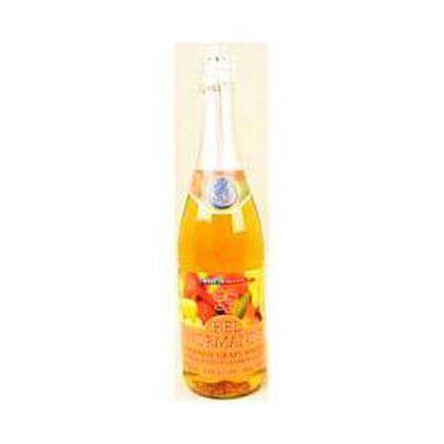 Pétillant mandarine raisin BEL NORMANDE, bouteille de 75cl