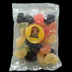 Gels de fruits assortis MOINET VICHY SANTE, sachet de 200g
