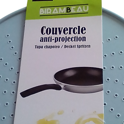 Couvercle anti-projection en silicone