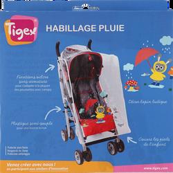 HABILLAGE DE PLUIE UNIVERSEL POUR POUSSETTE TIGEX