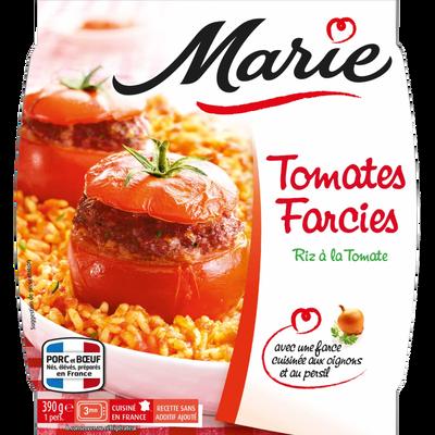 Tomates farcies, riz aux oignons et coulis tomate MARIE, 390g