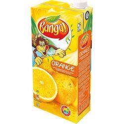 Boisson rafraîchissante aux fruits parfum orange, BANGA,2l