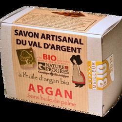 Savon artisanal BIO à l'huile d'argan ARGASOL, 140g