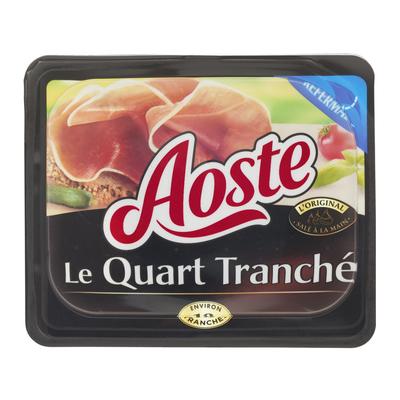 Quart de jambon cru AOSTE, 220g