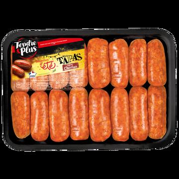 Tendre et Plus 16 Mini Tapas Chorizo À Griller, Tendre Et Plus, Barquette, 640g