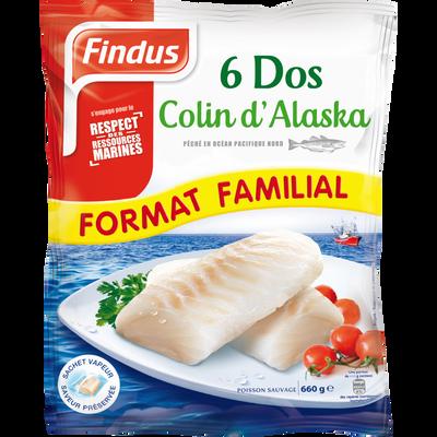 Dos de colin d'Alaska FINDUS, 660g