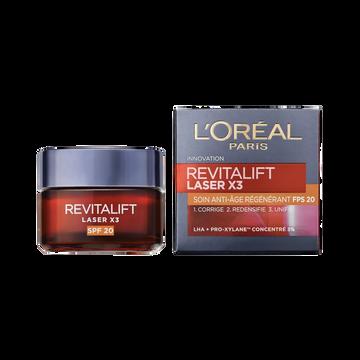 L'Oréal Soin Revitalift Laser X3 Spf20 L'oreal 50ml