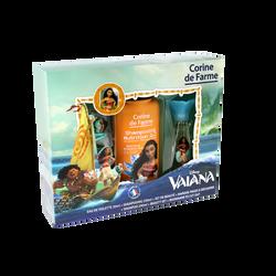 Coffret Vaiana eau de toilette CORINE DE FARME, 30ml + shampooing 250ml + set barrettes + bracelet