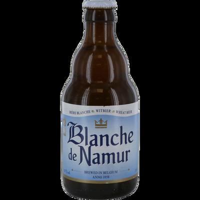Bière blanche de NAMUR, 4,5°, bouteille de 33cl