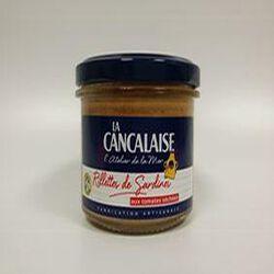 Rillettes de Sardines aux tomates séchées LA CANCALAISE 100g