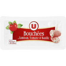 Bouchée fromagère jambon tomate basilic U, 100g