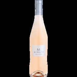 Vin rosé Côtes de Provence AOP  M de Minuty, bouteille de 75cl