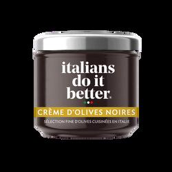 Antipasti crème d'olives noires Italians Do It Better 100g
