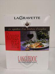 AOP Languedoc - La Gravette rouge - BIB 3L