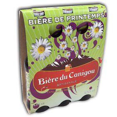 BIERE DU CANIGOU PRINTEMP 3X 33CL