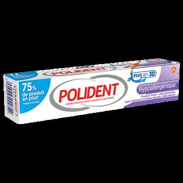 Polident Crème Adhésive Hypoallergénique Pour Appareils Dentaires Polident, Tube De 70g