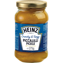 Sauce condiment piccalilli pickle HEINZ, 275g