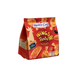 Wings Party nature, MAITRE COQ, Sac, 400g