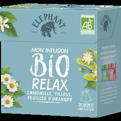 Infusion bio relax ELEPHANT, 20 sachets  de 26g