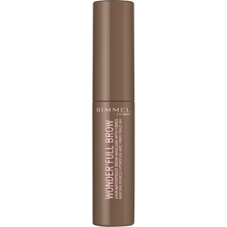 Mascara wonderfull 24hr brow 001 light brown RIMMEL, nu, 5ml