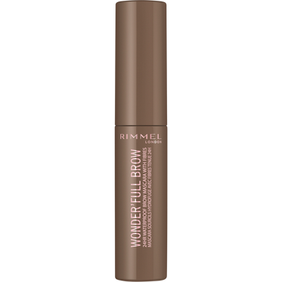 Mascara wonderfull 24hr brow 001 light brown RIMMEL, nu, 5ml